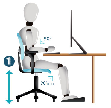 how to adjust your office chair | 6 easy steps | comfy office