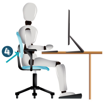 How to Adjust Office Chair Step 4