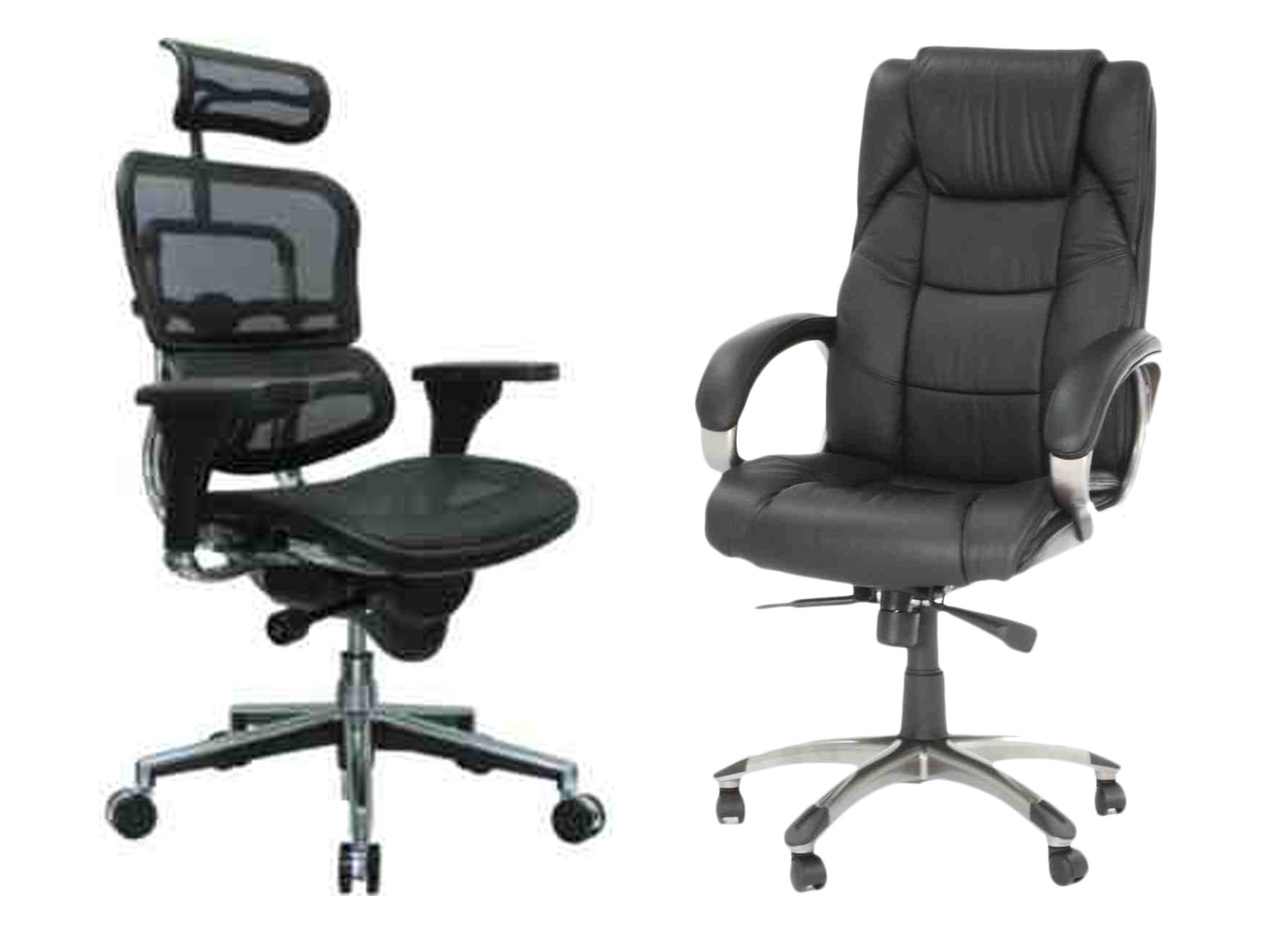 mesh vs leather chair which one is right for you comfy office chair the ultimate guide to. Black Bedroom Furniture Sets. Home Design Ideas